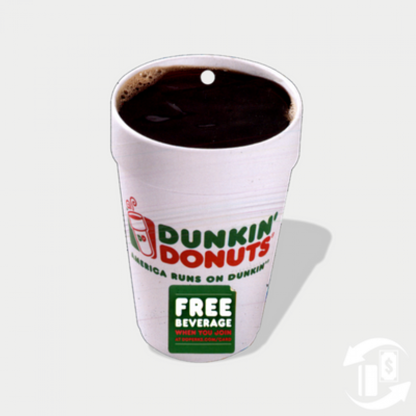 Hot Coffee Card – Dunkin Donuts
