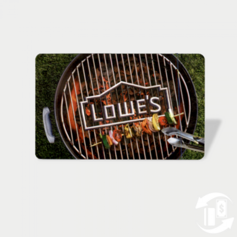 BBQ Grill Card – Lowes