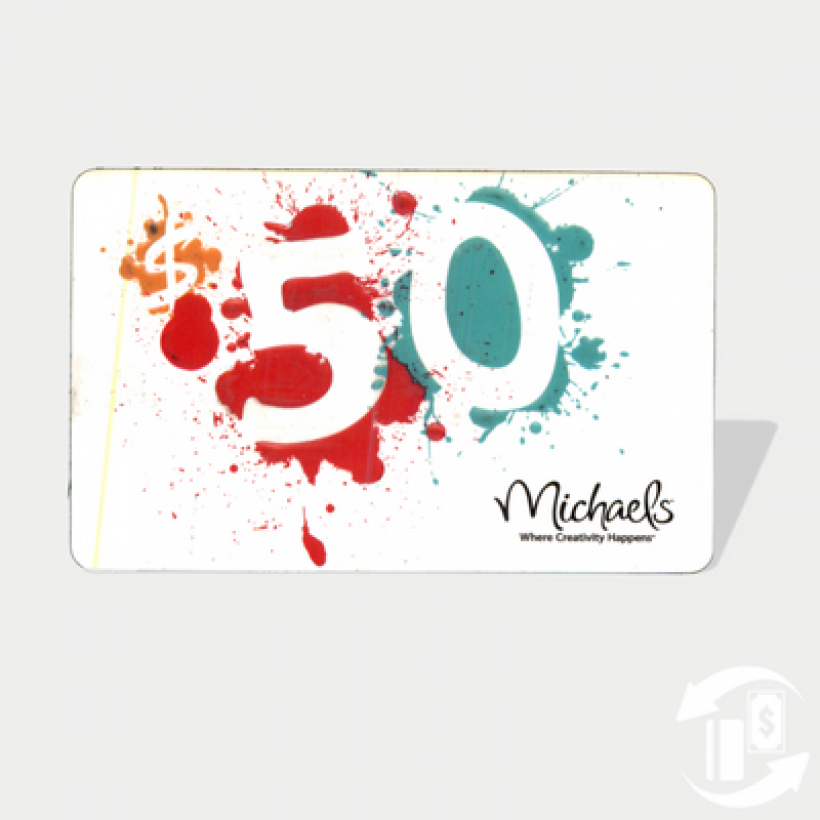 Raised Paint – Michael's Gift Card
