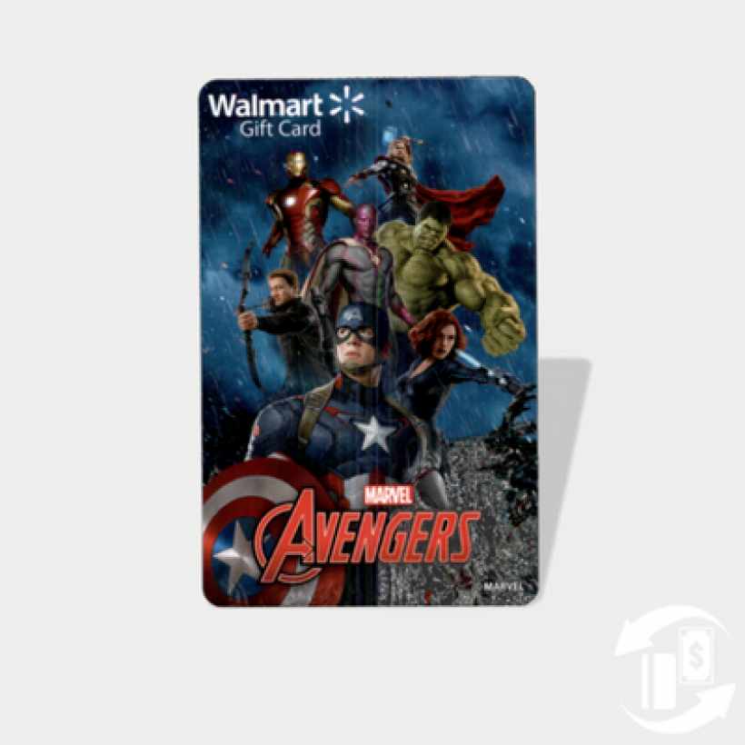 Marvel Avengers Gift Cards