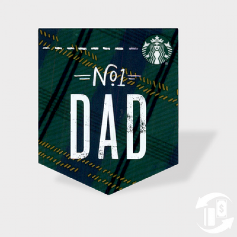 Dad Pocket Gift Card – Starbucks